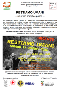 locandina Corima 17.10.2015 raccolta