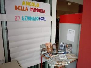 27.1.2021 Giorno memoria Angolo della memoriaScuola Pio Paschini Istituto Don Milani